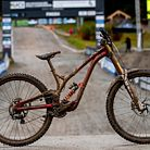 WINNING BIKE: Camille Balanche's Commencal Supreme from World Champs