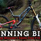 WINNING BIKE: Greg Minnaar's Santa Cruz V10