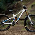 WINNING BIKE: Marine Cabirou's Scott Gambler