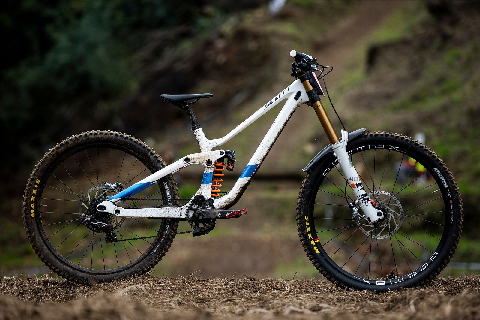 WINNING BIKE: Marine Cabirou's Scott Gambler Tuned - WINNING BIKE: Marine Cabirou's Scott Gambler - Mountain Biking Pictures - Vital MTB