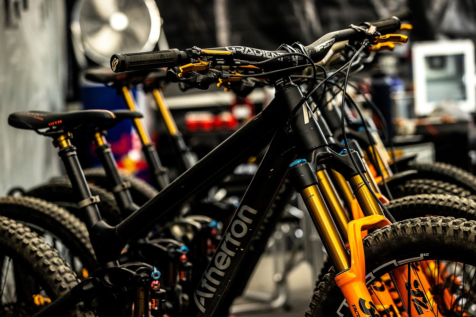 Atherton Bikes - PIT BITS - Leogang World Cup Downhill 2021 - Mountain Biking Pictures - Vital MTB