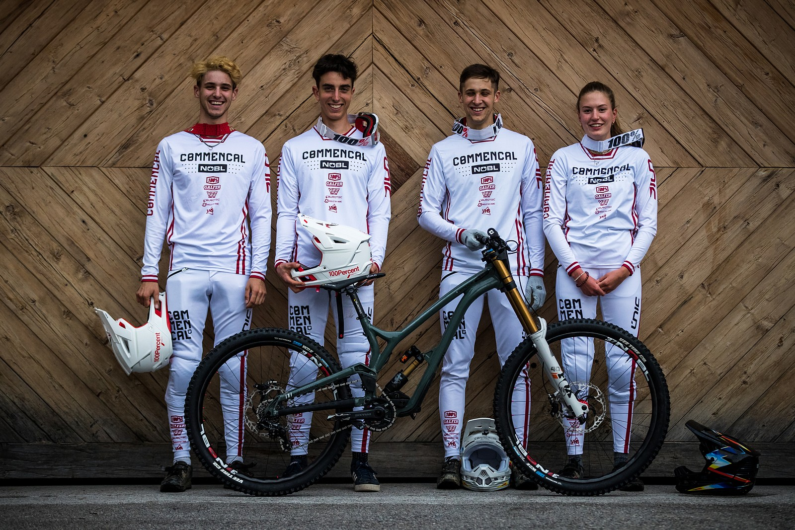 Commencal NOBL Squad - PIT BITS - Leogang World Cup Downhill 2021 - Mountain Biking Pictures - Vital MTB