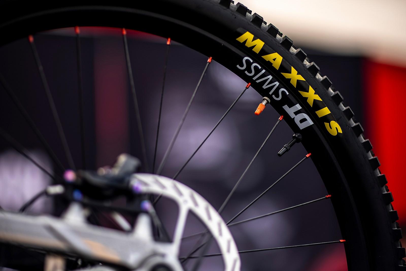 Double Dinguses - PIT BITS - Les Gets World Cup Downhill 2021 - Mountain Biking Pictures - Vital MTB