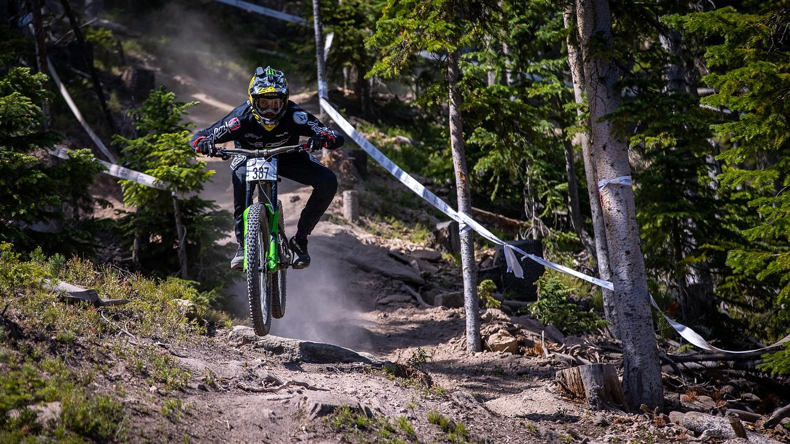 Ryan Pinkerton Men's Jr 15-16 Champ - US National Champs Downhill Photo Blast - Mountain Biking Pictures - Vital MTB