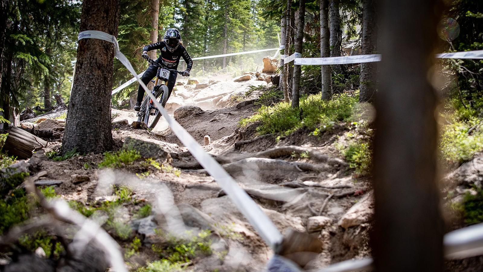 Kailey Skelton, Pro Women's Champ - US National Champs Downhill Photo Blast - Mountain Biking Pictures - Vital MTB