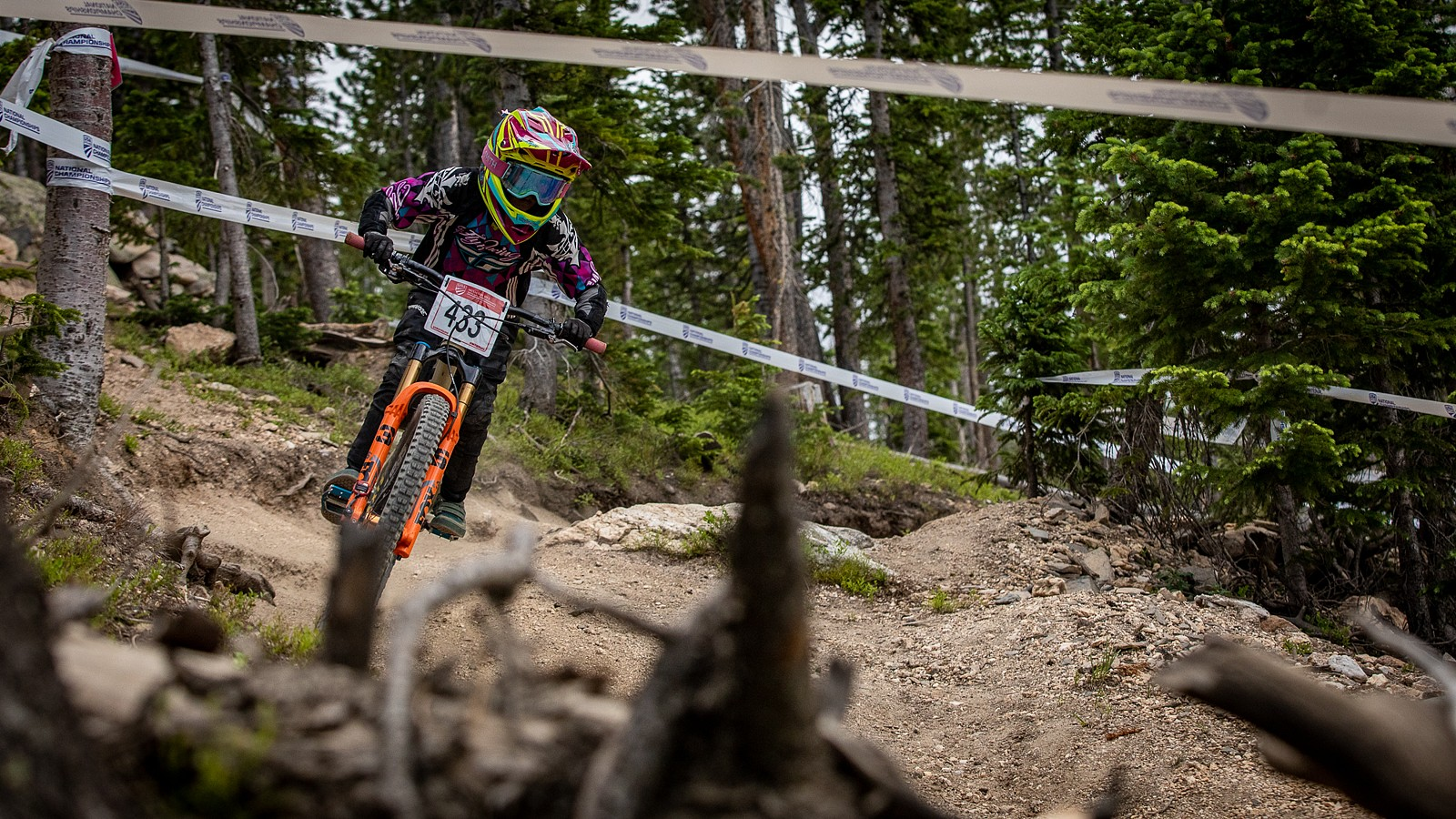 Sophie Gregory, Women's Jr 11-12 Champ - US National Champs Downhill Photo Blast - Mountain Biking Pictures - Vital MTB
