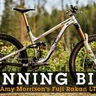 WINNING BIKE - Amy Morrison's Fuji Rakan LT
