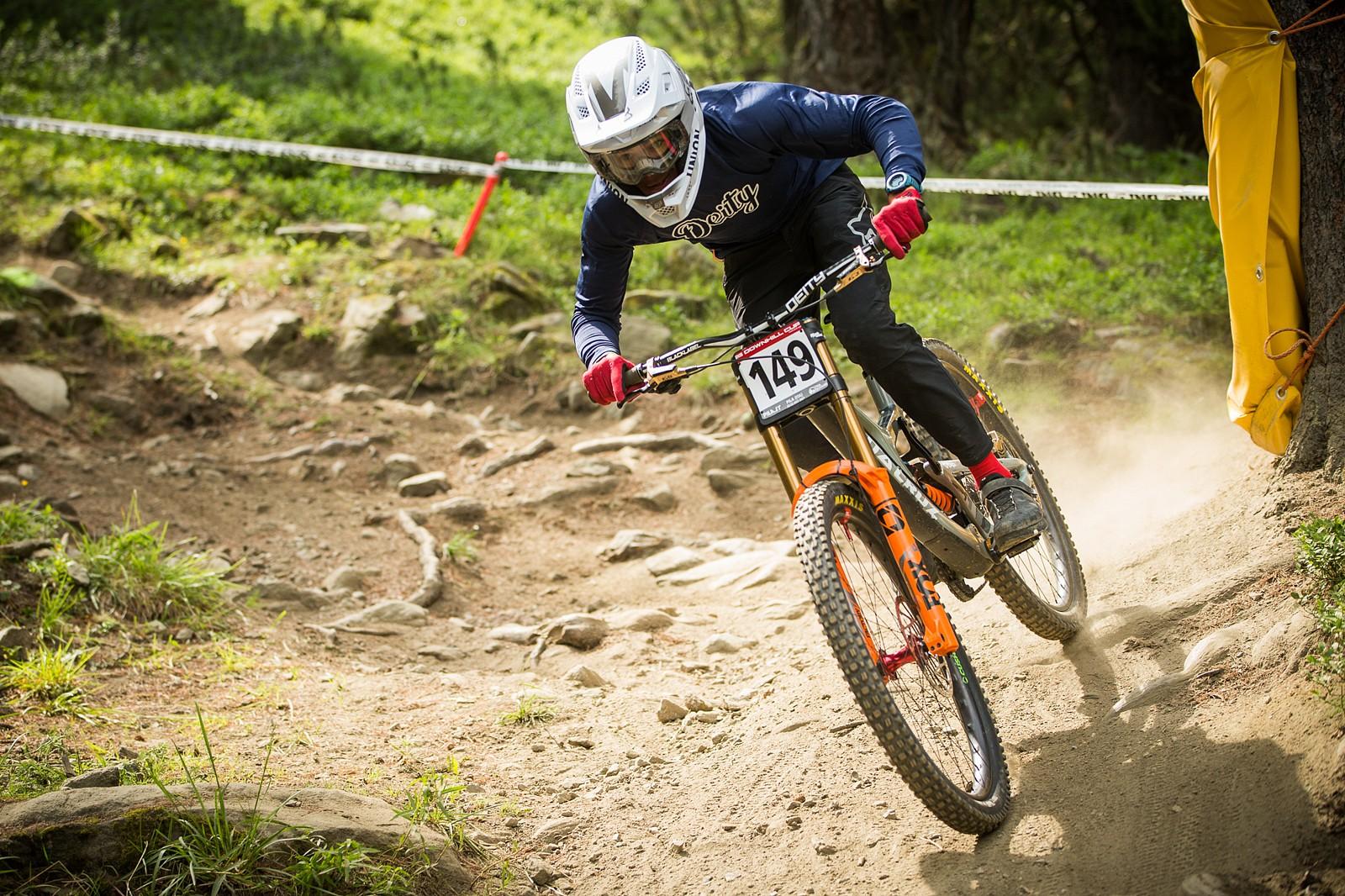 Tuhoto Akiri Pene - Elite Men's Winner - iXS Downhill Cup #2 Pila - Mountain Biking Pictures - Vital MTB