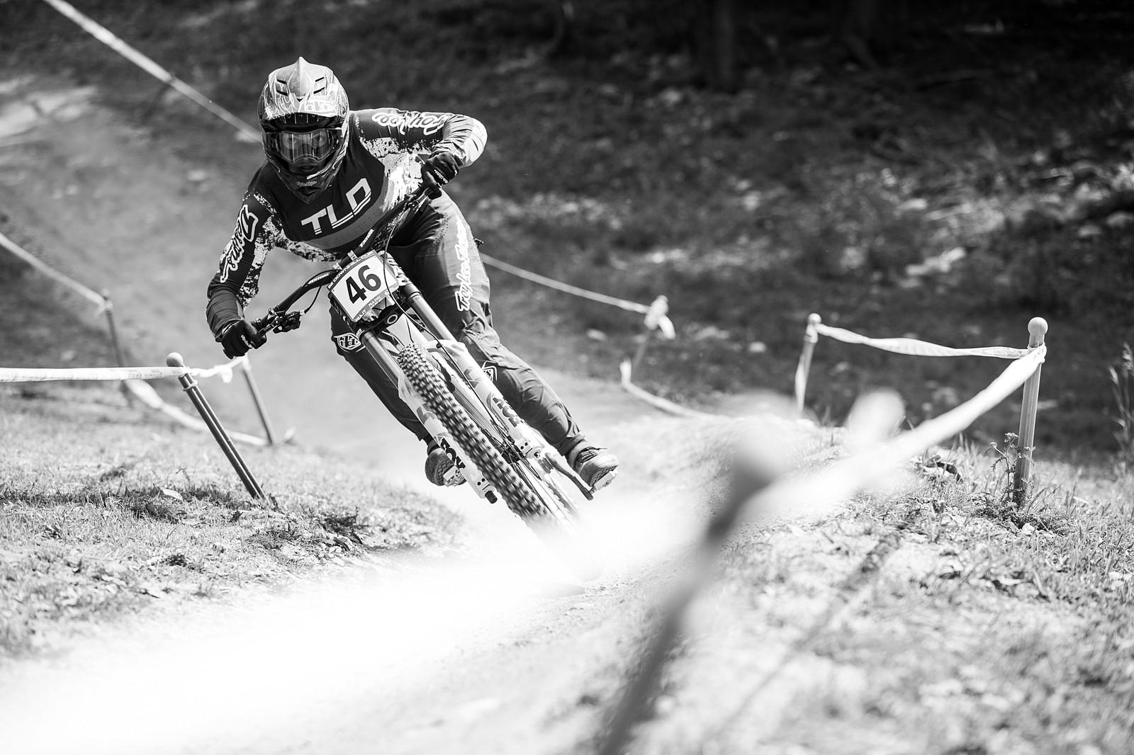 Gautier Jung - iXS Downhill Cup #2 Pila - Mountain Biking Pictures - Vital MTB