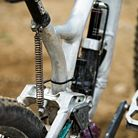 Jannick Lange's DIY Commencal Supreme with Pinion Gearbox