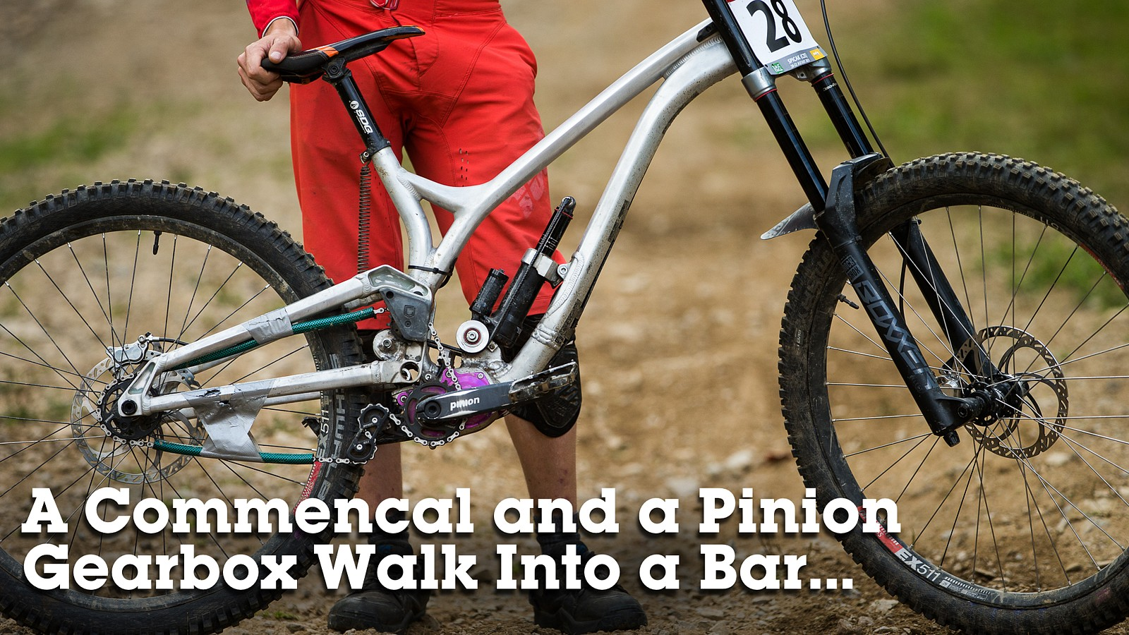 DIY Commencal Supreme DH with Pinion Gearbox - A Commencal and a Gearbox Walk Into a Bar - Mountain Biking Pictures - Vital MTB