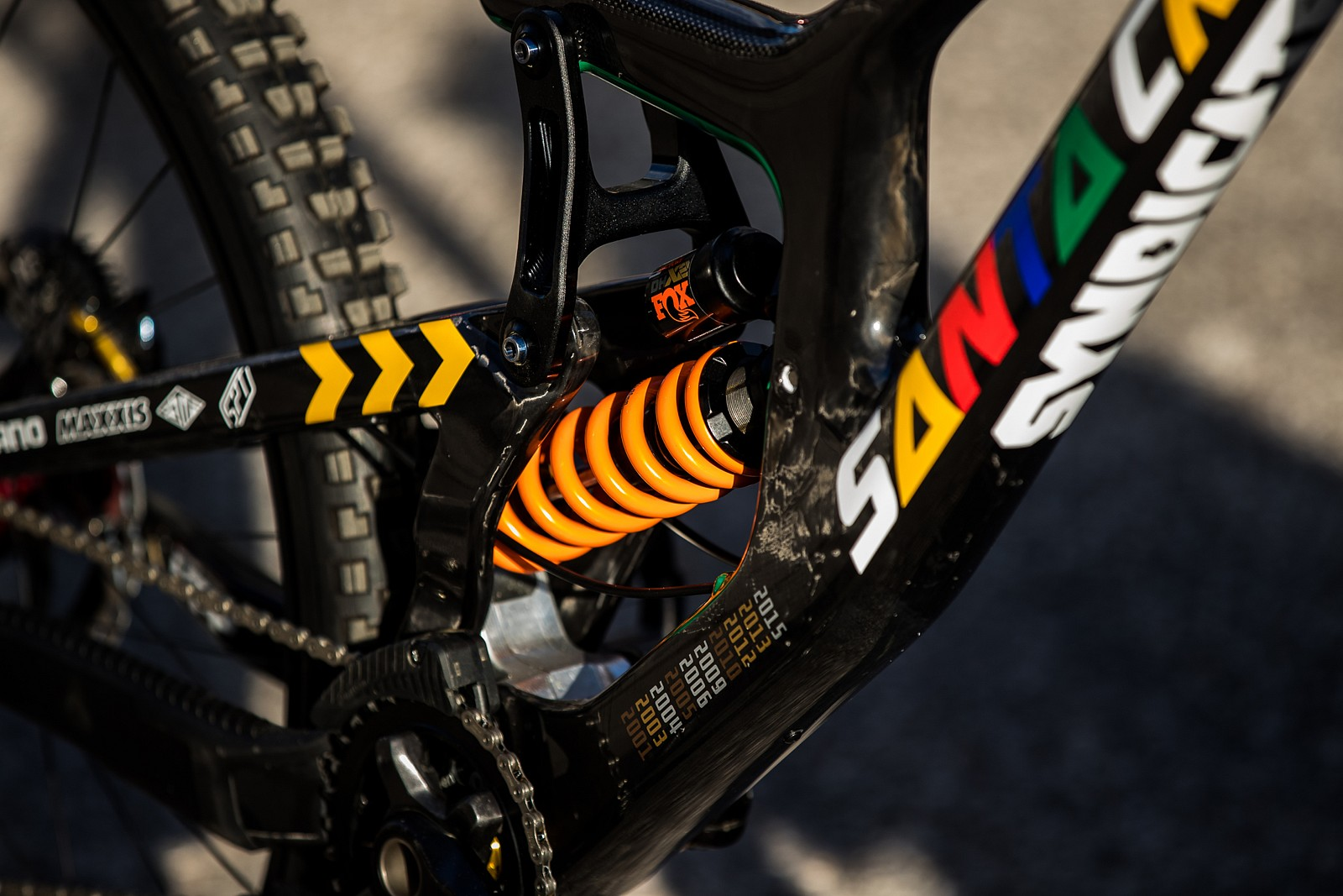 The Greatest of all Time - Greg Minnaar's Santa Cruz V10 - PIT BITS 4 - 2021 WORLD CHAMPS - Mountain Biking Pictures - Vital MTB