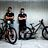 Andreas Kolb and Charlie Hatton with Their Atherton Bikes at the Val di Sole World Champs