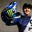 Marine Cabirou's Monster Energy Bluegrass Helmet at World Champs Val di Sole