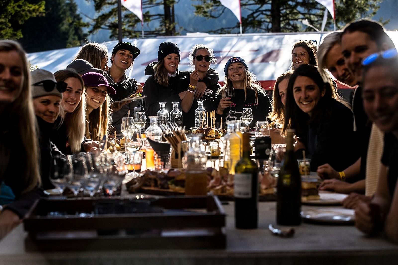 Women of World Cup Downhill - PIT BITS 2 - Lenzerheide World Cup DH - Mountain Biking Pictures - Vital MTB