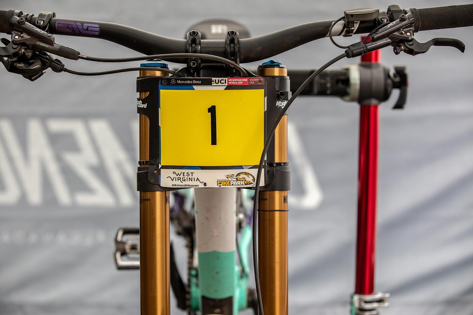 Thibaut Daprela's Commencal Supreme - PIT BITS 2 - Snowshoe World Cup Downhill - Mountain Biking Pictures - Vital MTB