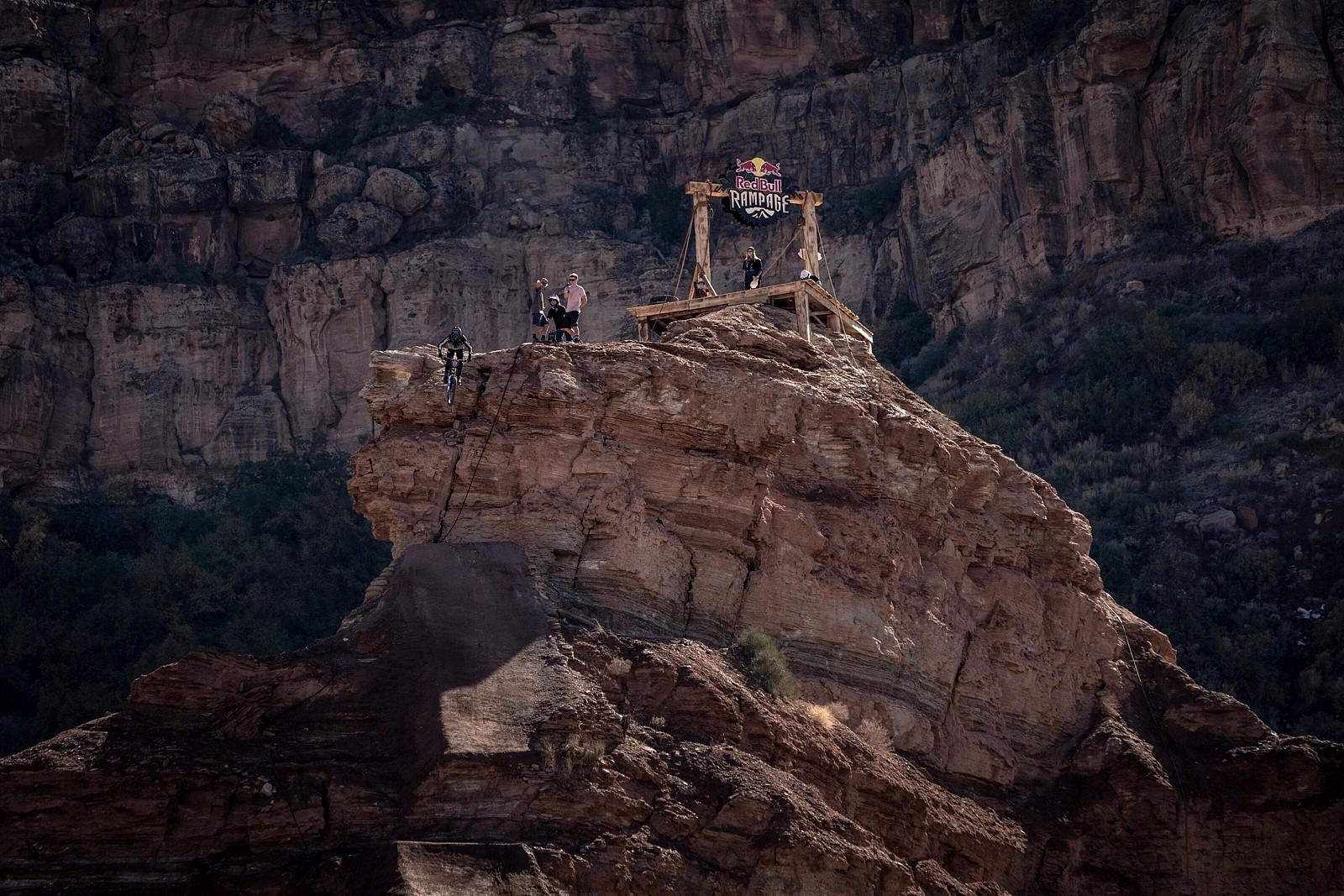 Tyler McCaul - 2021 Red Bull Rampage Photos - Mountain Biking Pictures - Vital MTB