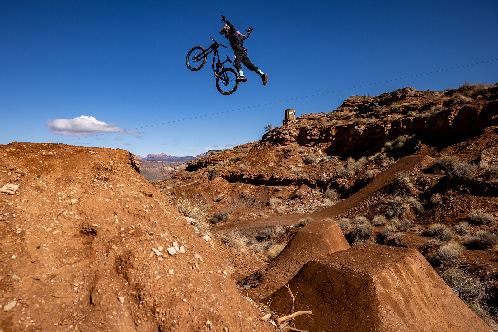 Szymon Godziek Nothing - 2021 Red Bull Rampage Photos - Mountain Biking Pictures - Vital MTB