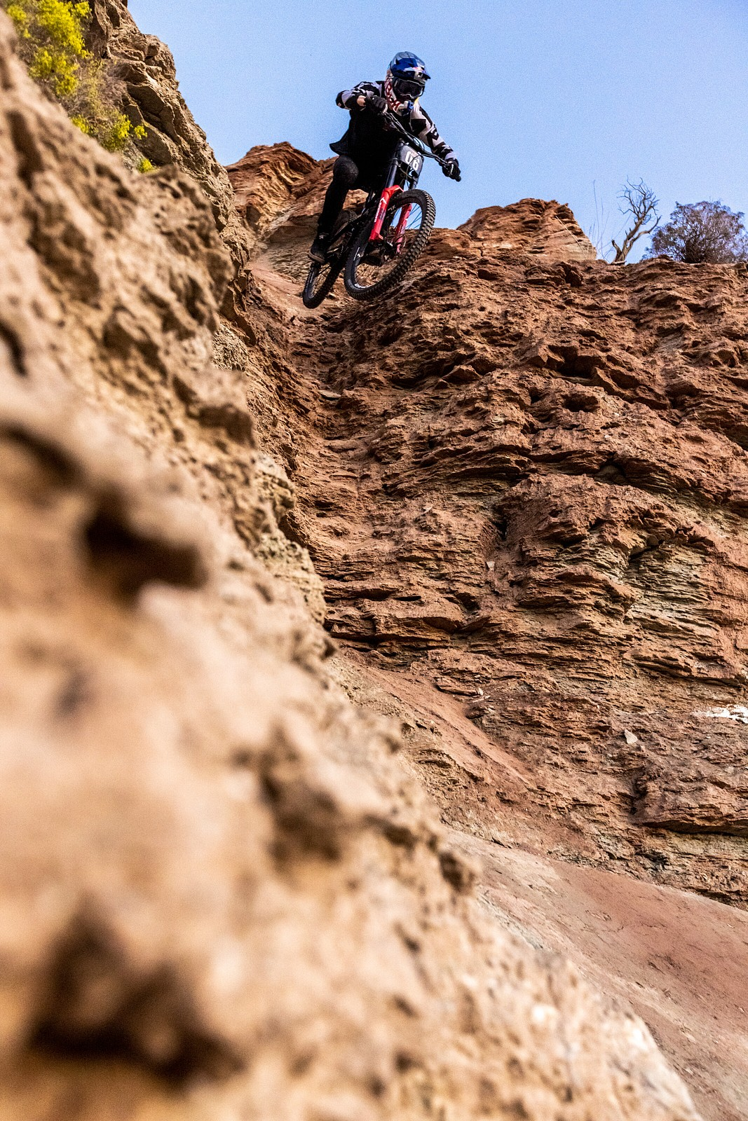Thomas Genon - 2021 Red Bull Rampage Photos - Mountain Biking Pictures - Vital MTB