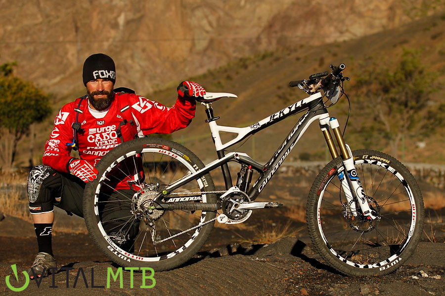 Mark Weir's Cannondale - Mark Weir's Cannondale - Mountain Biking Pictures - Vital MTB