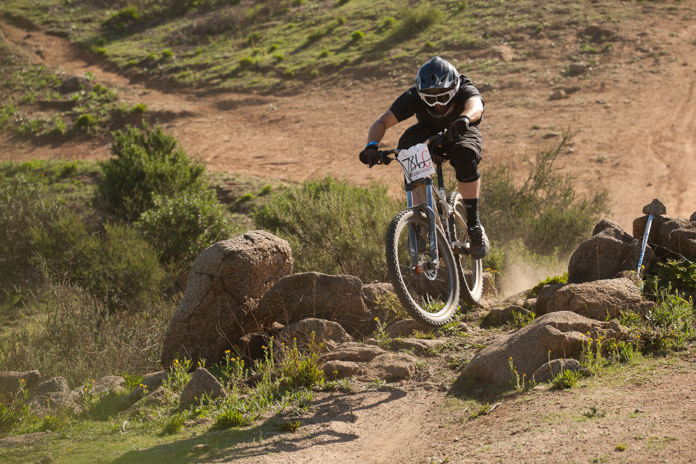 High Speed Booter - Fontana Winter Series 5 - Mountain Biking Pictures - Vital MTB