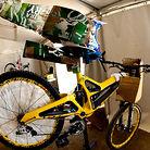 Custom Aero Gear on Mick's Bike