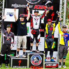 Men's Pro Podium at Fontana Nationals
