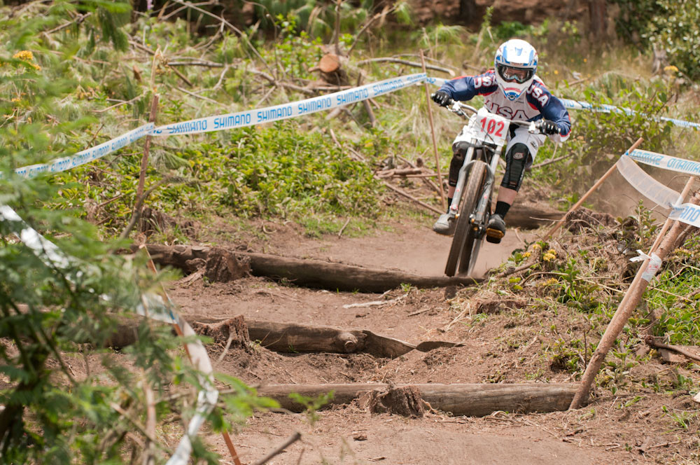 Jackie Harmony, Women's Panam Champs DH Winner - 2011 Panamerican Championships - Mountain Biking Pictures - Vital MTB