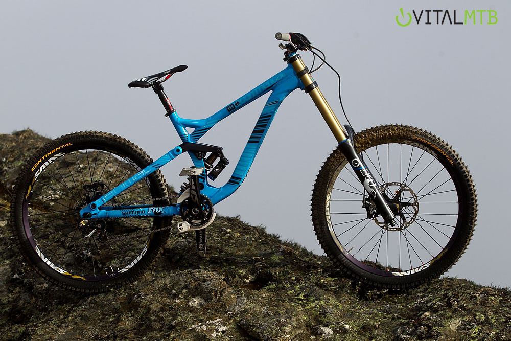 Dan Atherton's 2011 Pre-Season Bike - Dan Atherton's 2011 Pre-Season Bike - Mountain Biking Pictures - Vital MTB