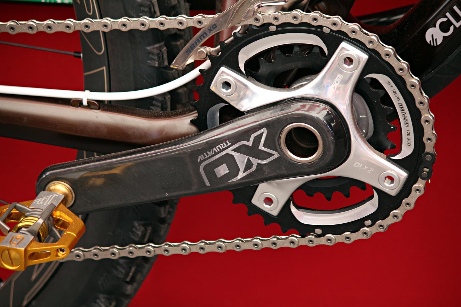 SRAM Launch - XO Crank - Sea Otter Pit Bits from gordo, Day 2 - Mountain Biking Pictures - Vital MTB