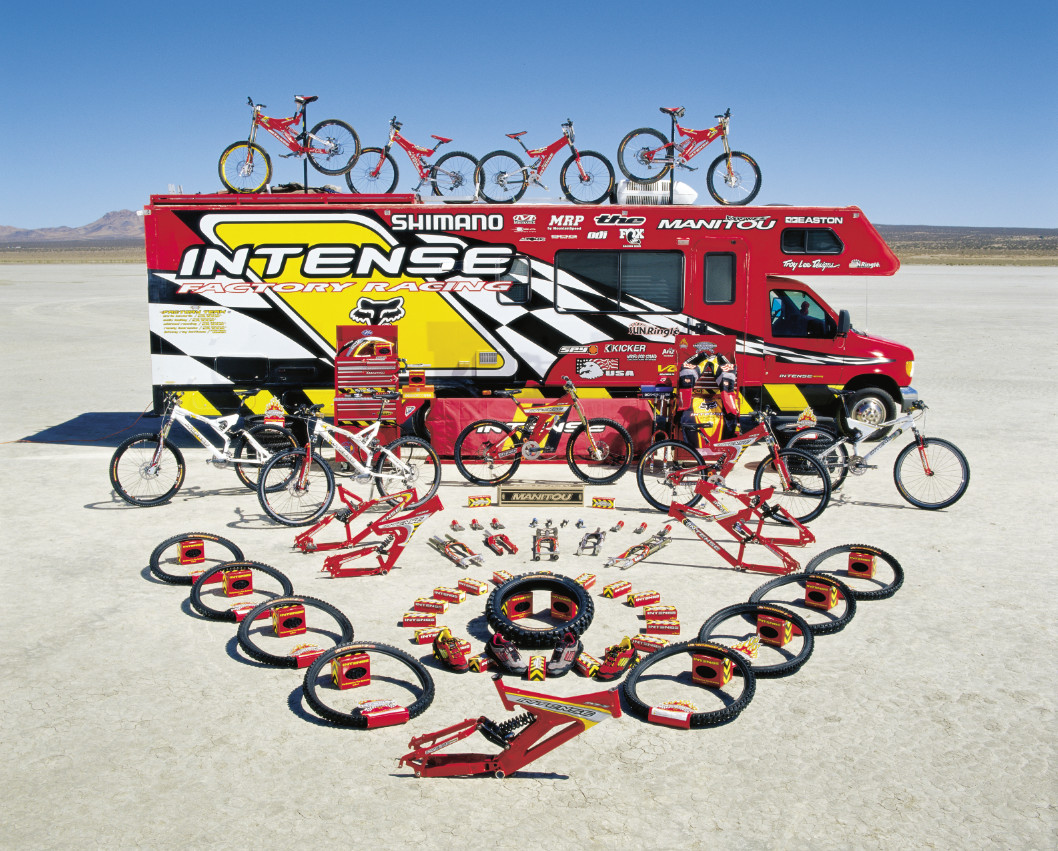 Intense Cycles Product offering circa 2000 - Making History, Intense Cycles - Mountain Biking Pictures - Vital MTB