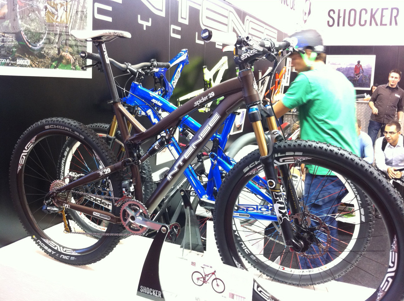 Intense Spider 29er - Eurobike 2011 - Mountain Biking Pictures - Vital MTB