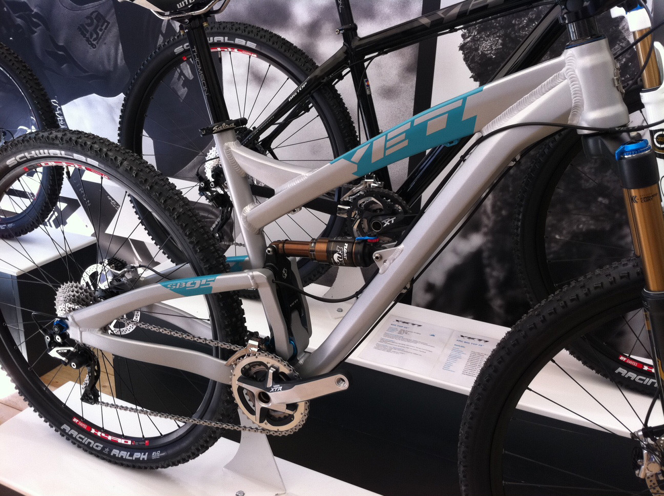 Yeti SB-95 - Eurobike 2011 - Mountain Biking Pictures - Vital MTB