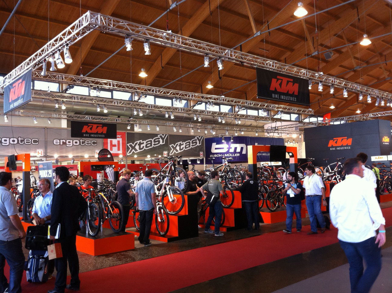 KTM booth - Eurobike 2011 - Mountain Biking Pictures - Vital MTB