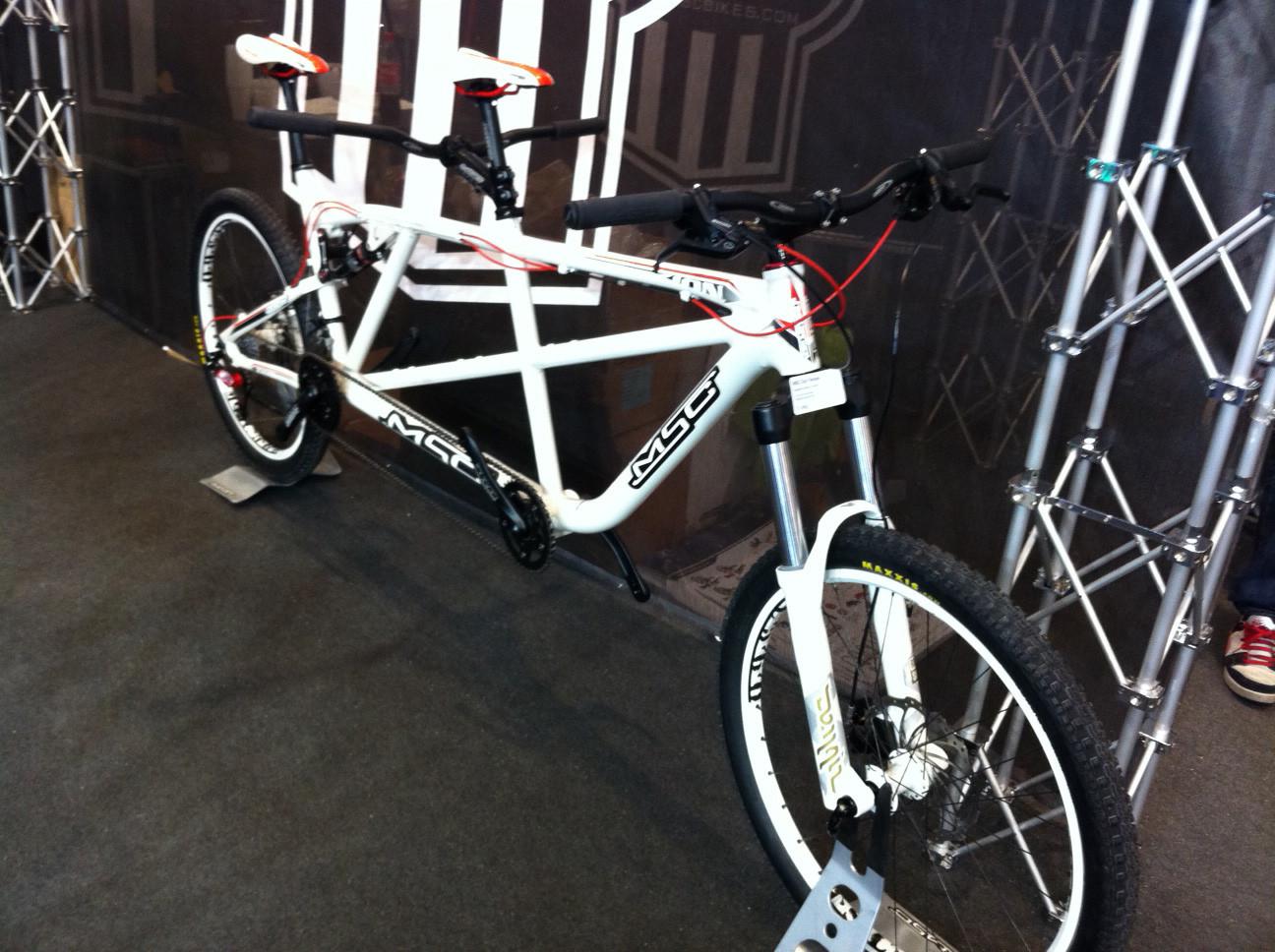MSC Tandem - Eurobike 2011 - Mountain Biking Pictures - Vital MTB