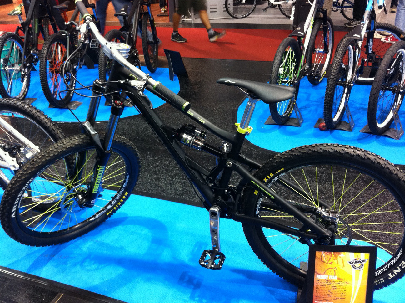 UMF Freddy - Eurobike 2011 - Mountain Biking Pictures - Vital MTB
