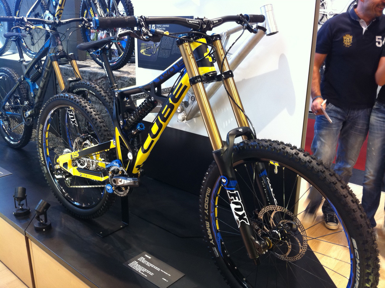 Cube Two15 - Eurobike 2011 - Mountain Biking Pictures - Vital MTB