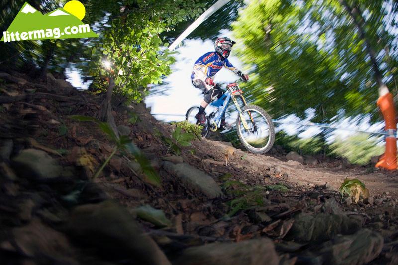 Logan Binggeli - 2009 UCI World Cup Maribor - Day 2 - Mountain Biking Pictures - Vital MTB