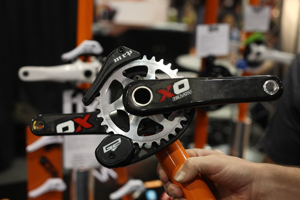MRP's 28-32 Prototype chainring and micro guide - Interbike 2011 Day 3 - Mountain Biking Pictures - Vital MTB
