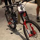 Danny Hart's World Champs Bike
