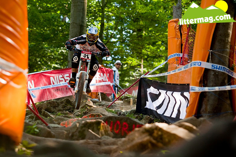 Strobel in da house! - 2009 UCI World Cup Maribor - Day 2 - Mountain Biking Pictures - Vital MTB