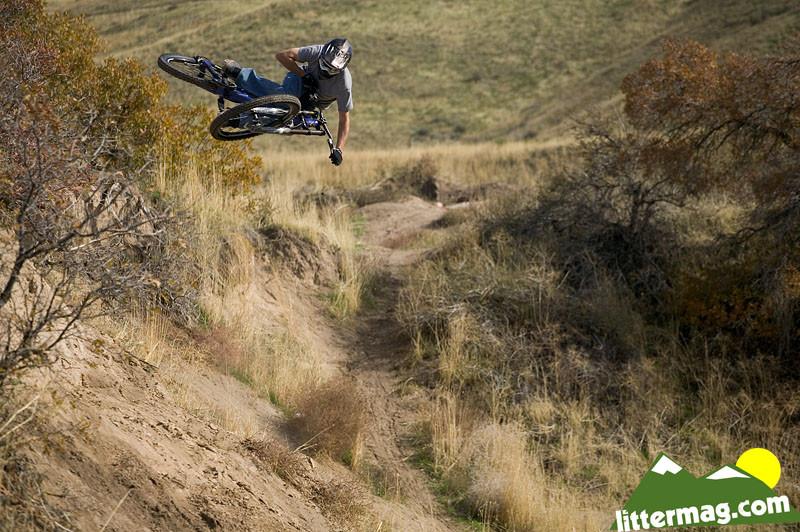 Nick Van Dine I-Street whippage. - 10 Days in Utah - Mountain Biking Pictures - Vital MTB
