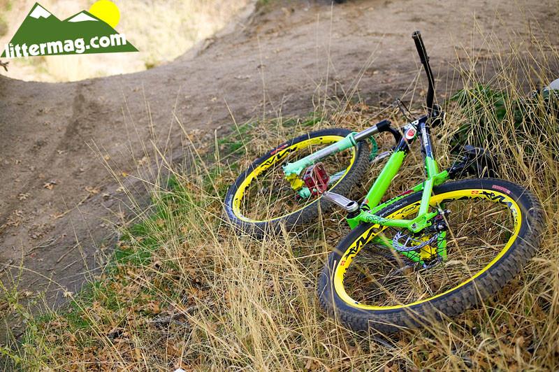Wayne Goss' Bike - 10 Days in Utah - Mountain Biking Pictures - Vital MTB