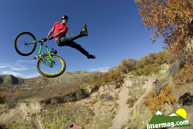 Wayne Goss no-foot can - 10 Days in Utah - Mountain Biking Pictures - Vital MTB