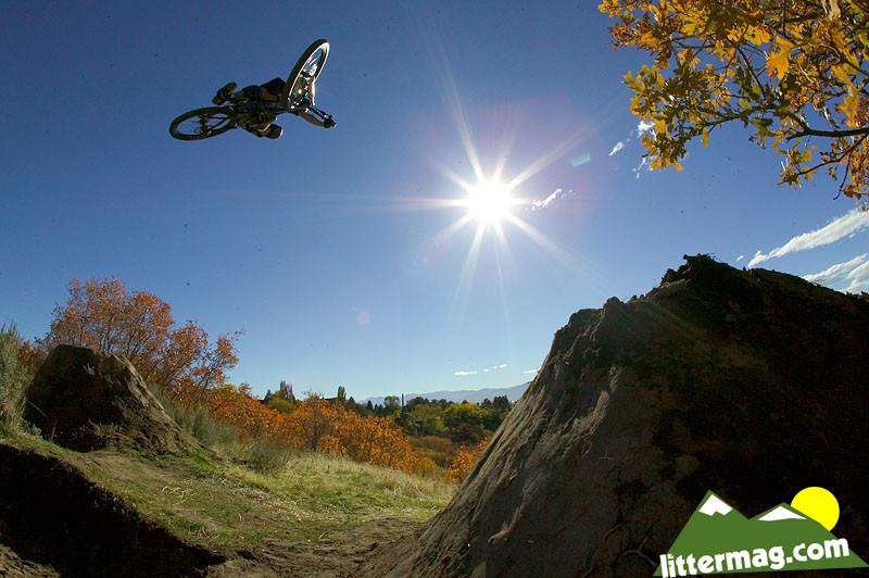 Nick Van Dine blaster - 10 Days in Utah - Mountain Biking Pictures - Vital MTB