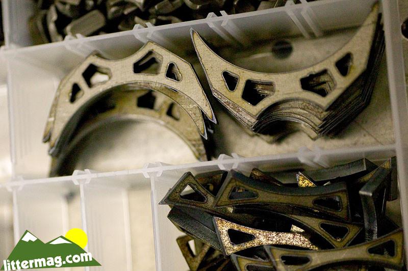 Laser cut bits for Superco manufacture - 10 Days in Utah - Mountain Biking Pictures - Vital MTB