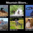 Mountain Biker's Reality