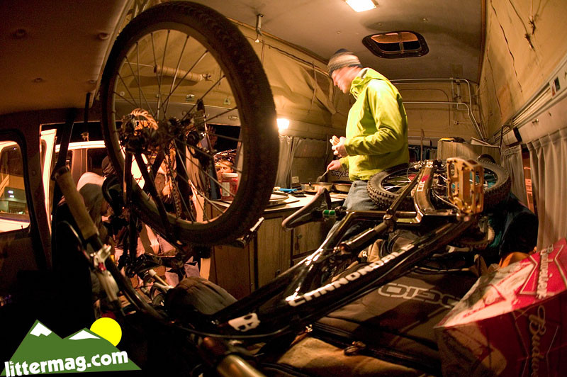 Chris Van Dine's shaggin' wagon - 10 Days in Utah - Mountain Biking Pictures - Vital MTB