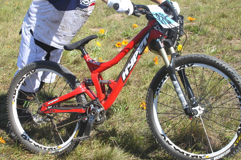 Cam Zink's Hyper Slalom bike - Pro Dual Slalom Bikes at Sea Otter 2012 - Mountain Biking Pictures - Vital MTB