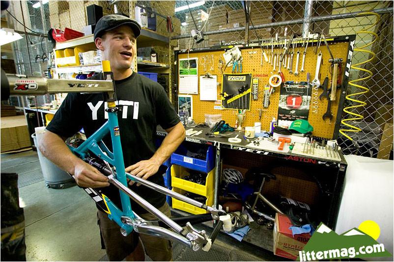 Ross Milan, Yeti Factory - Gordo's Leftover Portraits - Mountain Biking Pictures - Vital MTB